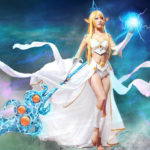 League of Legends Janna Cosplay set completo