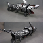 League of Legends LOL Jinx Fishbone Rocket Launcher Arma Prop