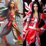 League of Legends LOL Irelia Il costume cosplay vi Lama