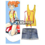 Pokemon mostro tascabile costume cosplay Misty