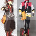 Pokemon mostro tascabile costume cosplay Rubino
