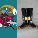 Punma di Cyborg 008 Cosplay Shoes