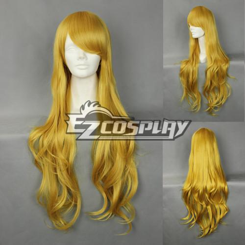 Costumi moda Ezcosplay Cosplay Giappone Harajuku Giallo Serie Wig-RL039
