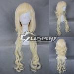 Cosplay Giappone Harajuku Serie debole giallo parrucca riccia-RL044C