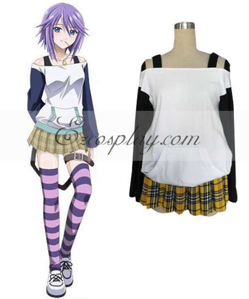 Costumi Fashion Ezcosplay Rosario + Vampire costume cosplay Mizoe