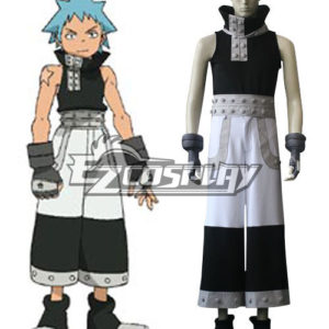 Costumi Fashion Ezcosplay Soul Eater costume Black Star Cosplay