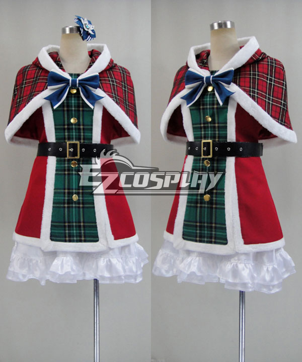 Costumes Fashion Ezcosplay Ama vivi! UR Sonoda Umi costume cosplay di Natale