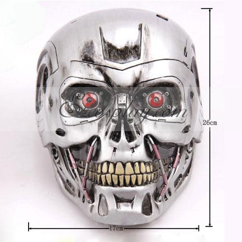 Costumi moda Ezcosplay Terminator Cosplay Mask - Premium Edition