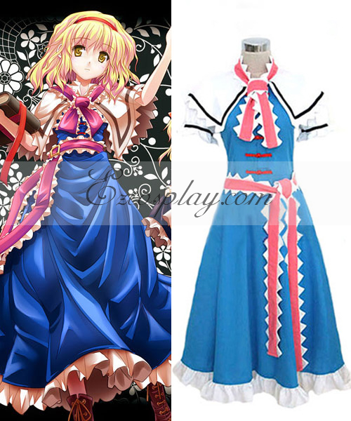 Costumi Fashion Ezcosplay Touhou Progetto Alice Margatroid costume cosplay