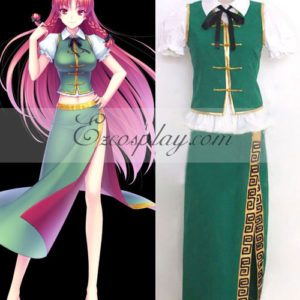 Costumi Fashion Ezcosplay Touhou Progetto Hong Meiling costume cosplay