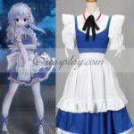 Touhou Progetto Izayoi Sakuy costume cosplay