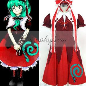 Costumi Fashion Ezcosplay Touhou Progetto Kagiyama costume cosplay Hina