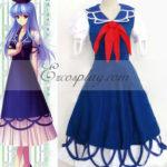 Touhou progetto Kamishirasawa Keine costume cosplay