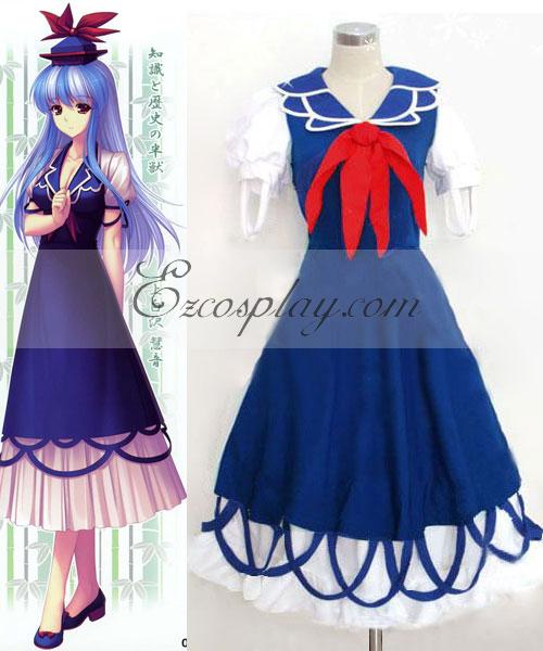 Costumi Fashion Ezcosplay Touhou progetto Kamishirasawa Keine costume cosplay