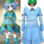 Touhou progetto Kawashiro Nitori costume cosplay