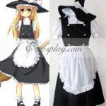 Touhou Progetto Marisa Kirisame costume cosplay