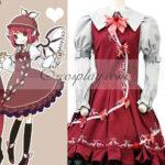 Touhou progetto Mystia Lorelei costume cosplay (compreso il cappello)