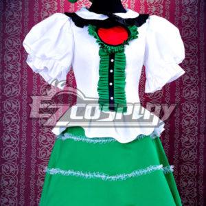 Costumi moda Ezcosplay Touhou progetto Subterranean Animismo Reiuji costume cosplay Utsuho