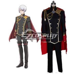 Costumes Fashion Ezcosplay Carino difesa alta Terra Club Amore! Kinshiro costume cosplay Kusatsu con Capo