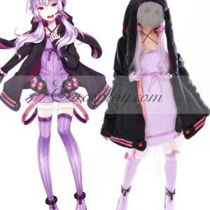 Costumi Fashion Ezcosplay Vocaloid 3 Yuzuki costume cosplay Yukari