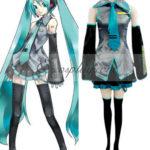Vocaloid Hatsune Miku Cosplay-taglia M