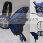 Vocaloid Kaito Copslay Blu Prop Headset