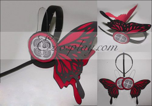 Costumi Fashion Ezcosplay Vocaloid Kaito Copslay Red Prop Headset
