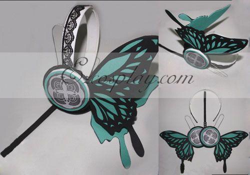 Costumi Fashion Ezcosplay Vocaloid Luca Copslay Verde Prop Headset