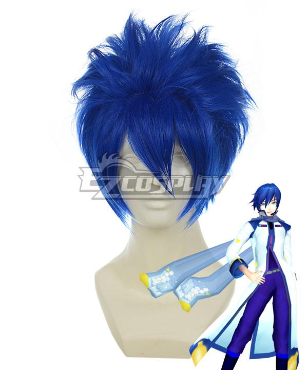 Costumi moda Ezcosplay Vocaloid Kaito blu scuro Cosplay-011A