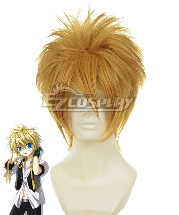 Costumi moda Ezcosplay Vocaloid Kagamine Rin / Len Brown Cosplay-012C