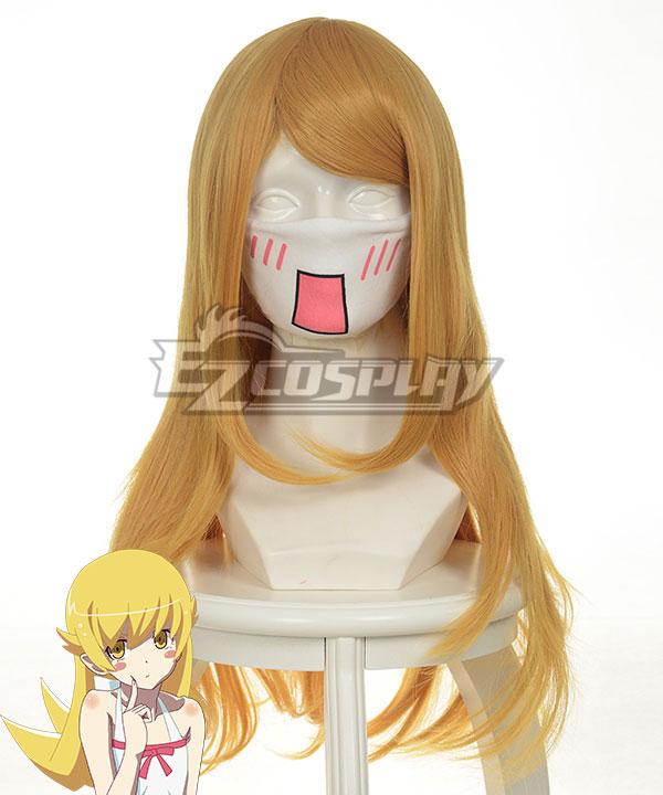Costumi moda Ezcosplay Cosplay Nisemonogatari Oshino Shinobu Giallo Wig-035A