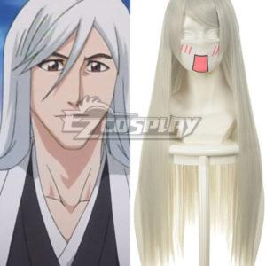 Costumi moda Ezcosplay Bleach Ukitake Jushiro Bianco Cosplay-036P