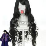 Inuyasha Cosplay Naraku nero onda parrucca-037L