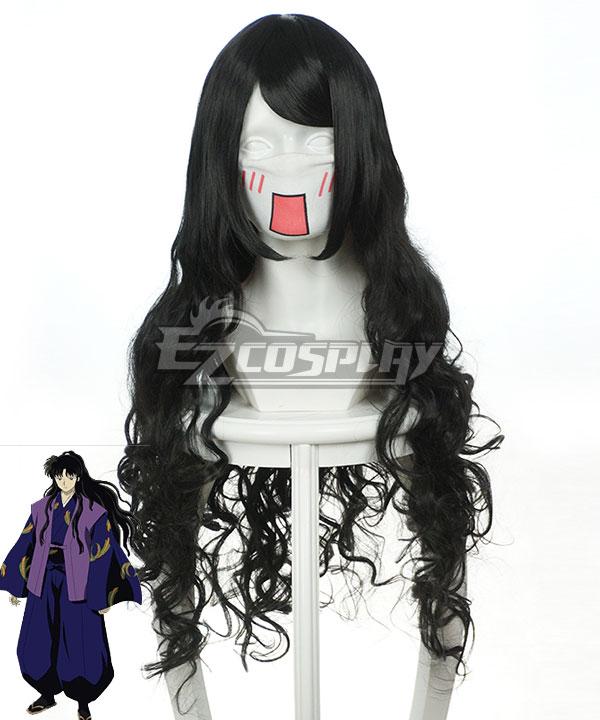 Costumi moda Ezcosplay Inuyasha Cosplay Naraku nero onda parrucca-037L