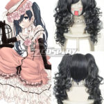 Black Butler Ciel Phantomhive Grey Cosplay 046A
