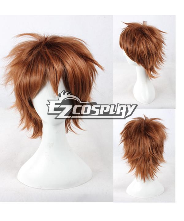 Costumi moda Ezcosplay Cosplay Pupa Utsutsu Hasegawa Brown Wig-334a