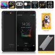 Meiigoo M1 Android Phone – Octa-Core CPU, 6GB RAM, 16MP Dual-Rear Camera, Android 7.0, 5.5 Inch FHD, 4000mAh, 4G (Black)