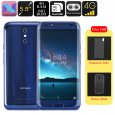 HK Warehouse Doogee BL5000 Android Smartphone – Android 7.0, Octa-Core CPU, 4GB RAM, 1080p, 5050mAh, 13mp Dual-Cam (Blue)