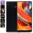 Xiaomi Mi Mix 2 Android Smartphone – Android 7.0, 5.99-Inch Bezel Less, Bluetooth 5.0, 6GB RAM, Snapdragon 835 CPU (Black-64GB)