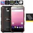 NOMU S10 Pro Android Phone – IP68 Waterproof, Quad-Core CPU, 3GB RAM, Android 7.0, Dual-IMEI, OTG, 5-Inch, 5000mAh (Orange)