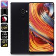 Xiaomi Mi Mix 2 Android Phone – 128GB Memory, Snapdragon CPU, 6GB RAM, ANdroid 7.1, 5.99 Inch Screen, 4G, Dual SIM, NFC
